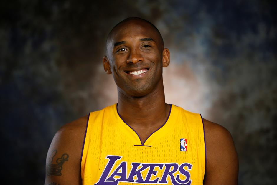 kobe bryant career and kobe bryant with lakers jersey