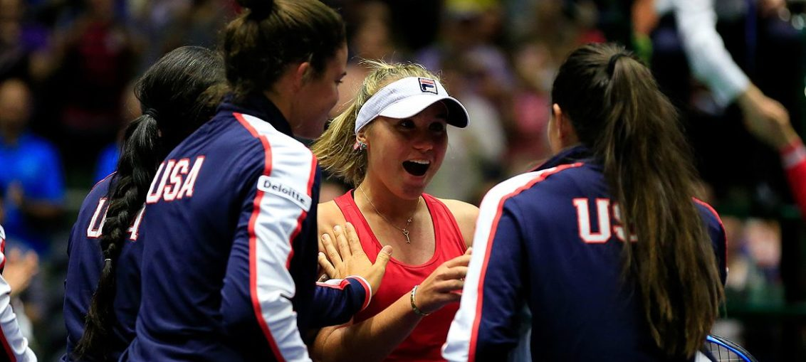 coronavirus news with tennis players in fed cup