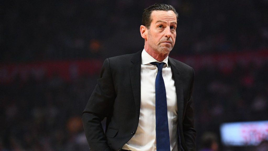 nba news-kenny atkinson in black suit