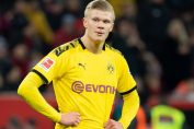 bundesliga germany-erling haland in borussia dortmund yellow jersey