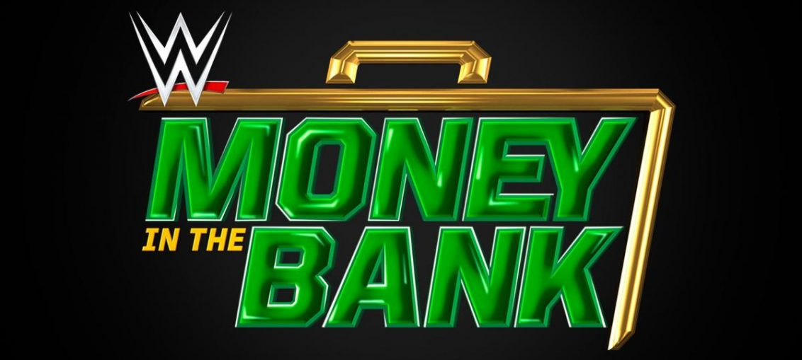 wwe money in the bank logo in black and green