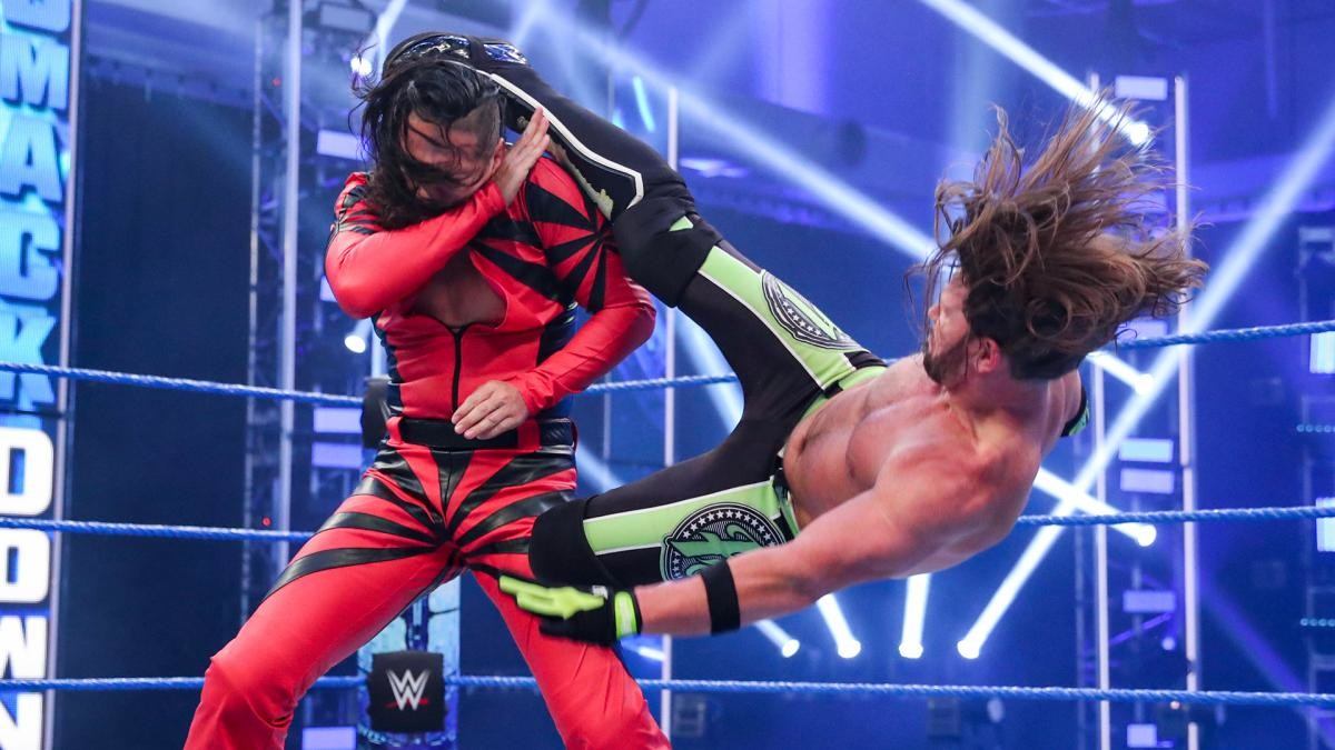 wwe smackdown results-shinsuke nakamura vs aj styles in wwe friday night smackdown