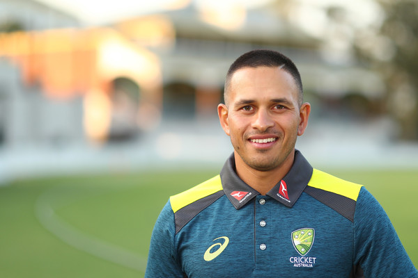 india vs australia test series-usman khawaja in australia jersey