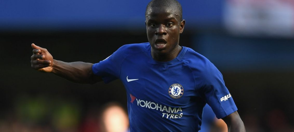 ngolo kante injury-ngolo kante in blue home chelsea kit