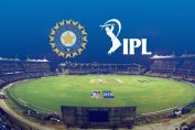 indian cricket board-indian premier league logo with a cricket ground