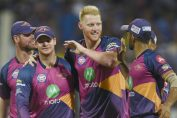 match between australia and england-ben stokes and steve smith in rajasthan royal jersey in ipl