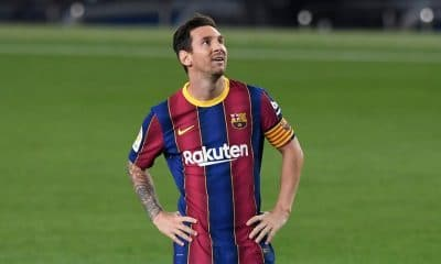 barcelona lionel messi- lionel messi in red blue barcelona jersey