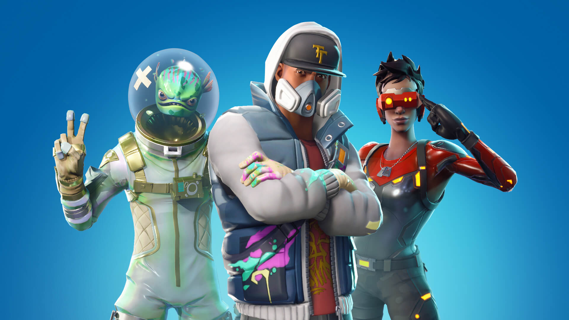 top 10 most popular online games 2021- fortnite characters