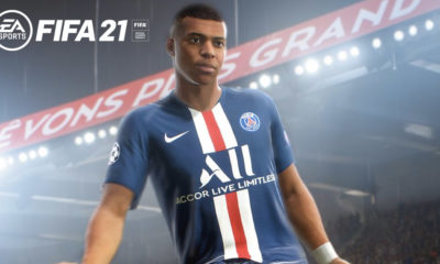 fifa 21 fastest players- kylian mbappe in psg jersey in fifa 21