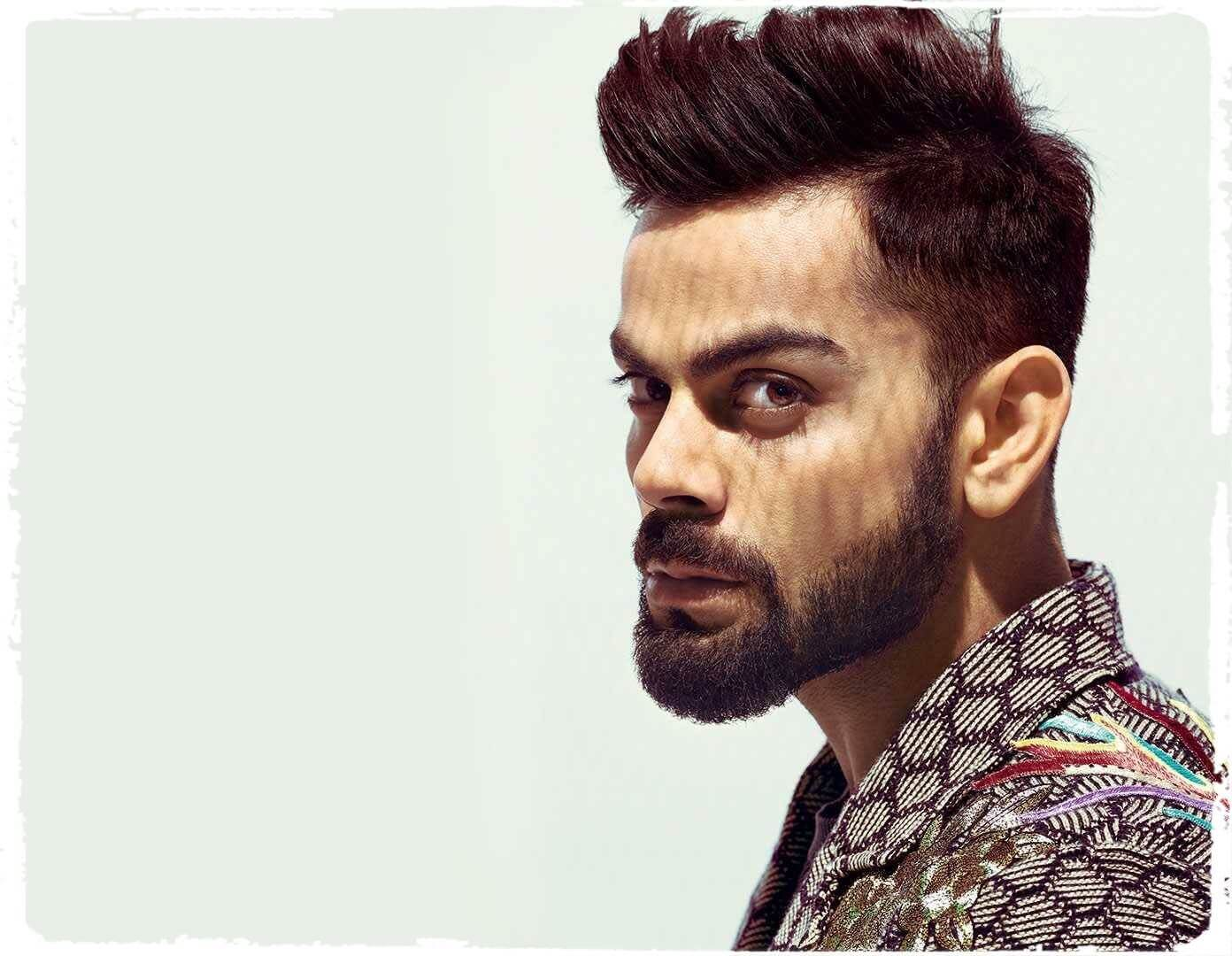 richest cricketers in the world 2021-virat kohli in beard
