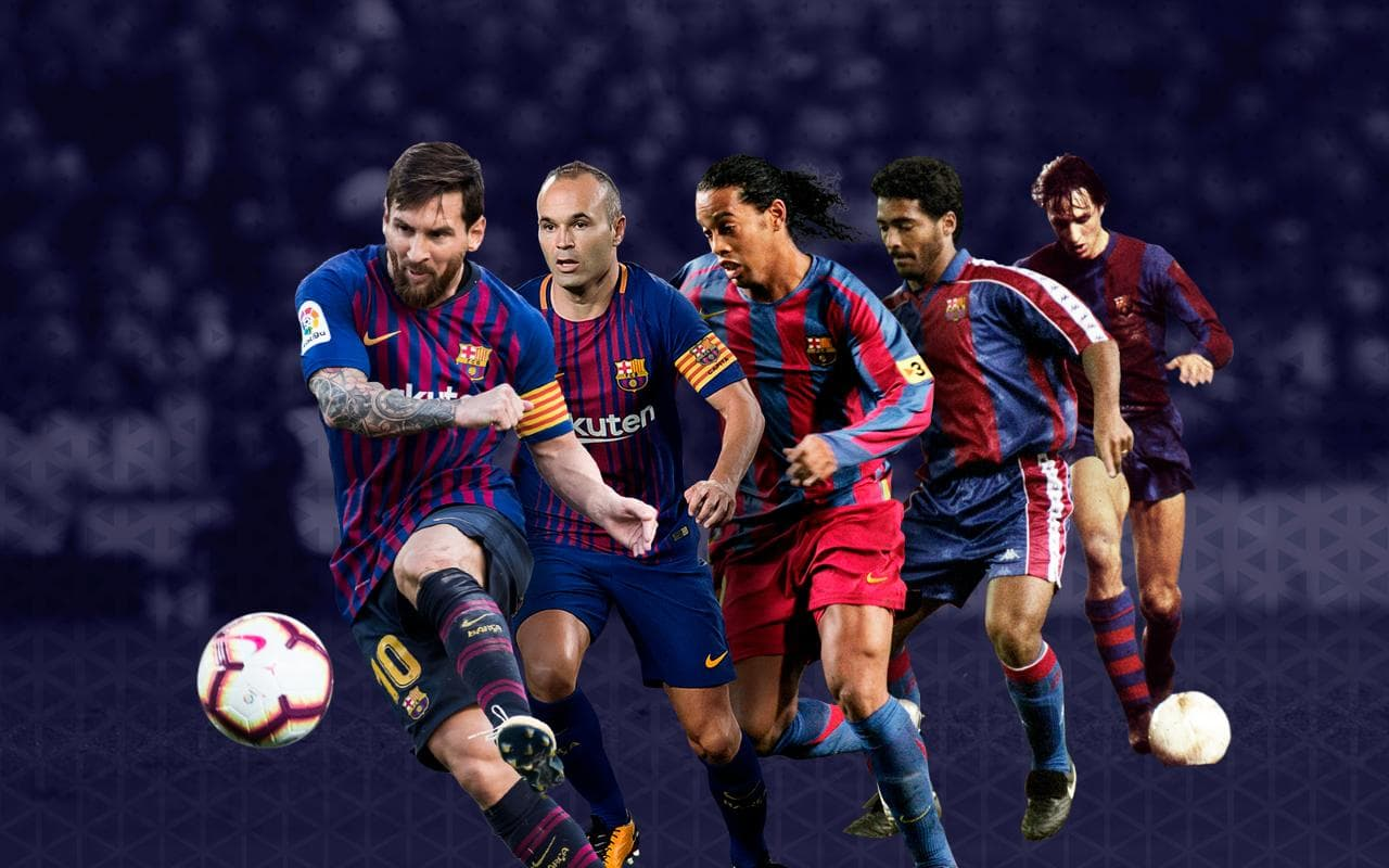 top 10 greatest barcelona players of all time